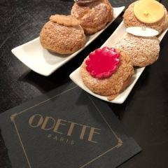 Odette, choux, marche