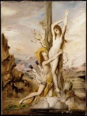 Gustave Moreau pluie Courses Resto du coeur