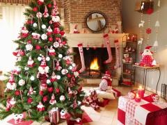 Esprit de Noël, sapin, hanoukia