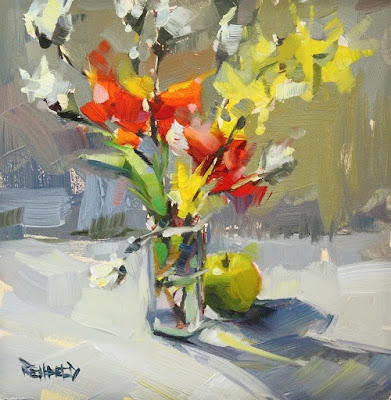 Fleurs, jardinières, maison