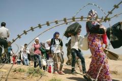 réfugiés, refus, yeux fermés