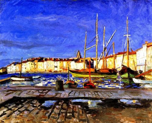 Pluie, Albert Marquet, Paris