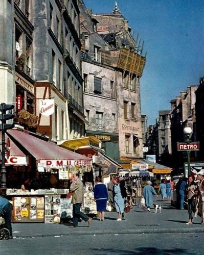 paris,rue rambuteau,les halles