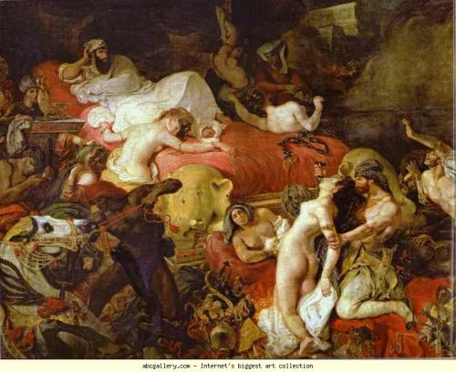 Delacroix, Musée, Orientalisme