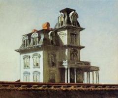 Maison, Lakevio, Hopper, train