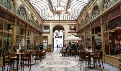 Passage Vivienne, café Vivienne, promenade parisienne