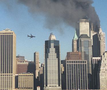 11 septembre, télévision, départ