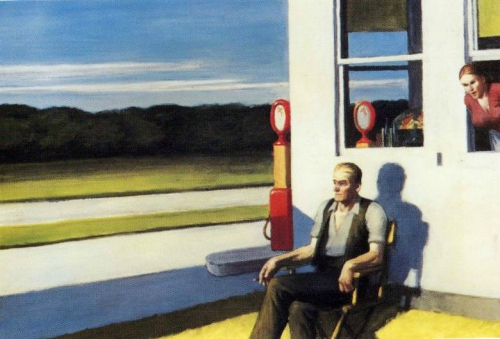 Hopper, solitude, américains