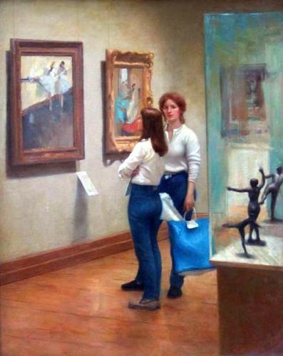 Tableaux, Degas, Lakevio