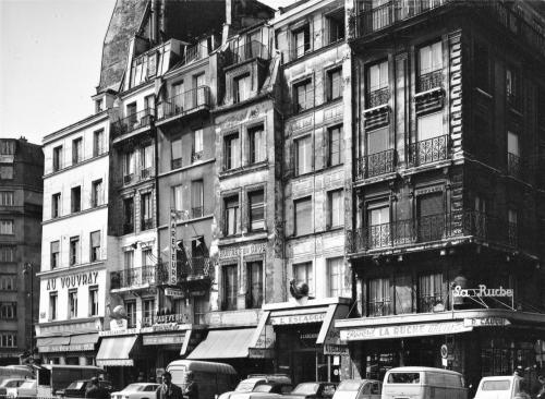 Marais, rue du Temple, rue Rambuteau