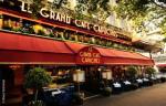 Le grand café, Paris, caissière