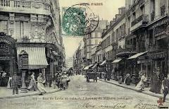 Paris promenade JJF, le temps qui passe