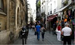 Rive Gauche, Paris, souvenirs